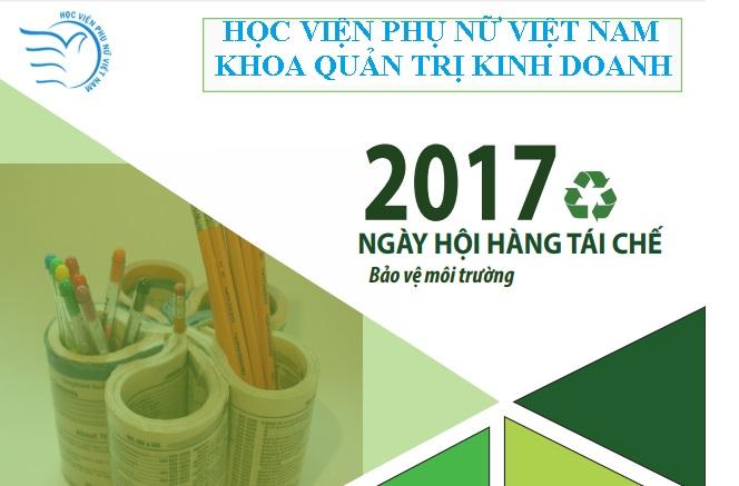 Ngày hội hàng tái chế 2017