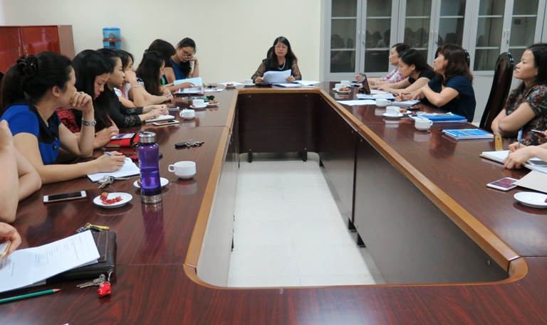 Chi hội Phụ nữ Học viện tổ chức sinh hoạt quý II