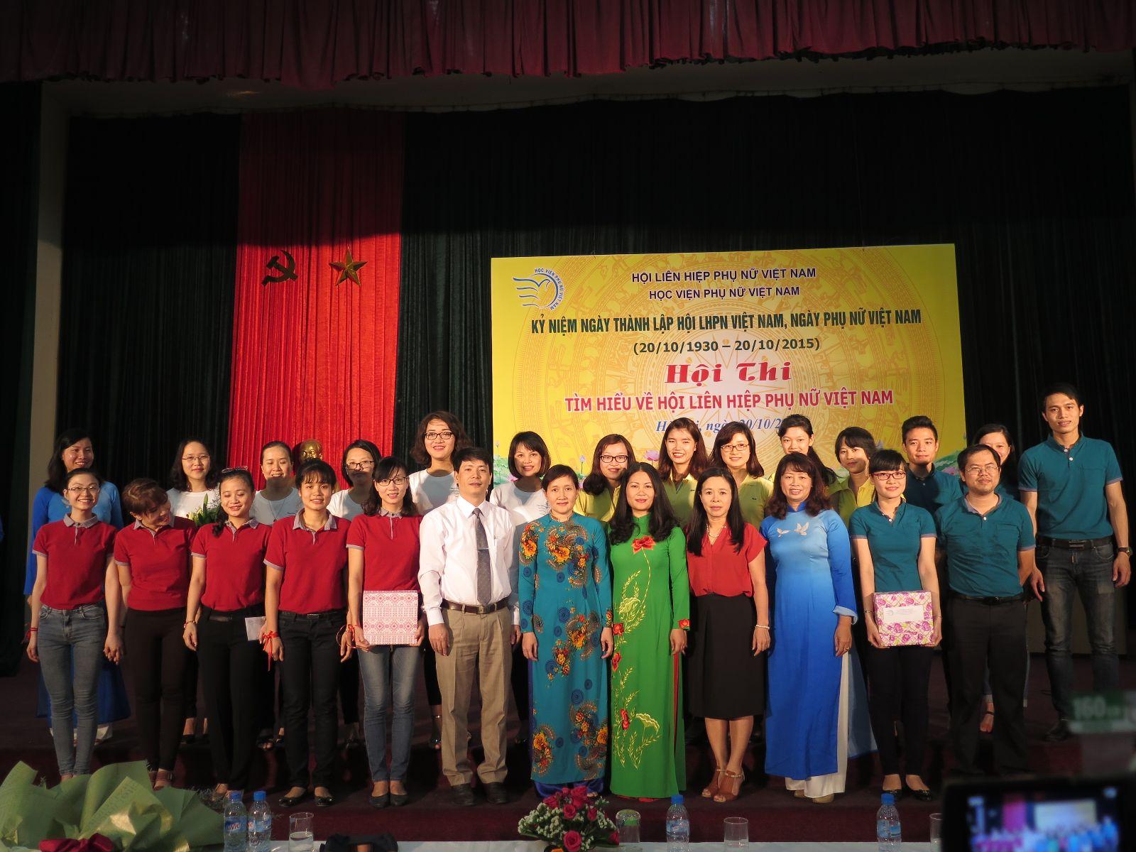 """Lễ kỉ niệm ngày Phụ nữ Việt Nam và Hội thi """"Tìm hiểu về Hội LHPN Việt Nam"""""""