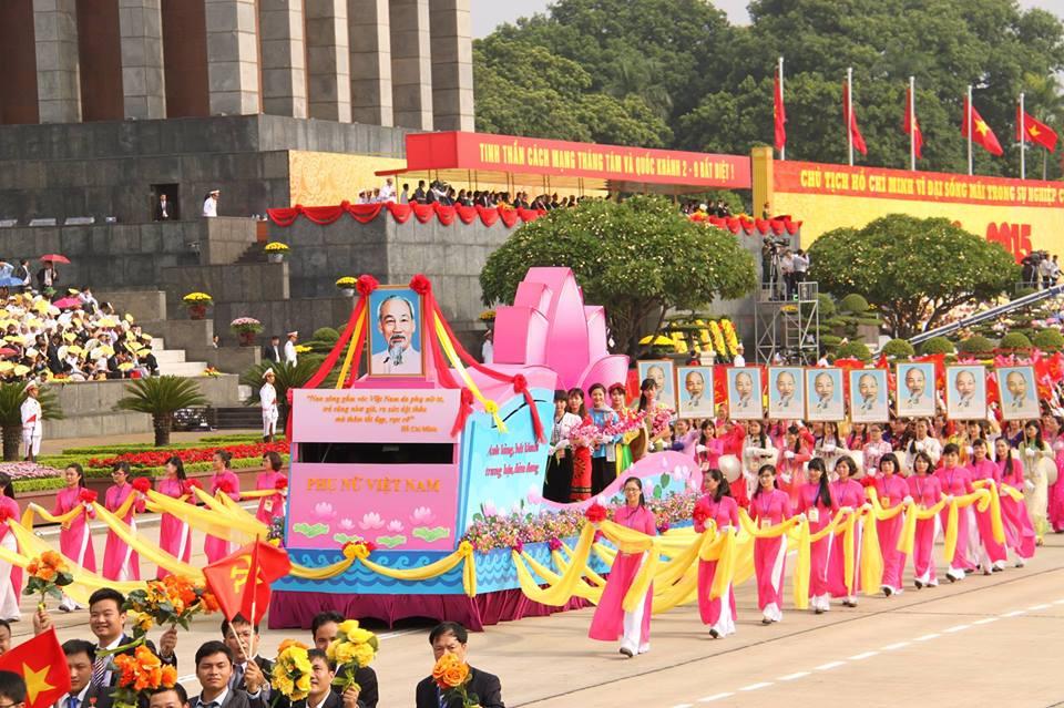 Lễ mít tinh, diễu binh, diễu hành Kỷ niệm 70 năm Cách mạng Tháng Tám và Quốc khánh nước Cộng hòa xã hội chủ nghĩa Việt Nam