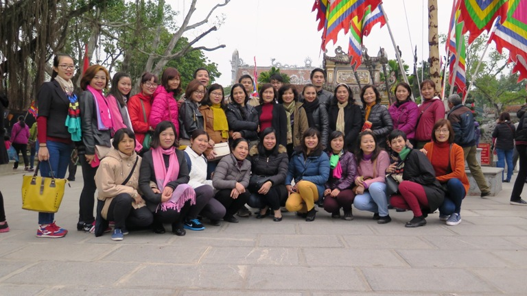 Công đoàn Học viện tổ chức về nguồn tại tỉnh Hải Dương
