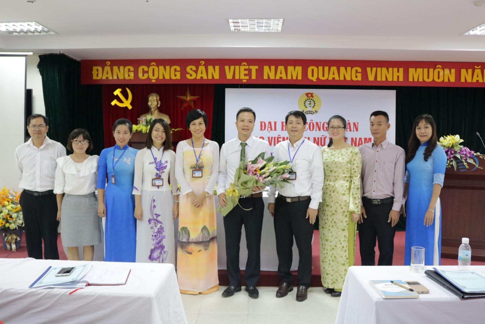 Đại hội công đoàn Học viện Phụ nữ Việt Nam nhiệm kỳ 2017 – 2022