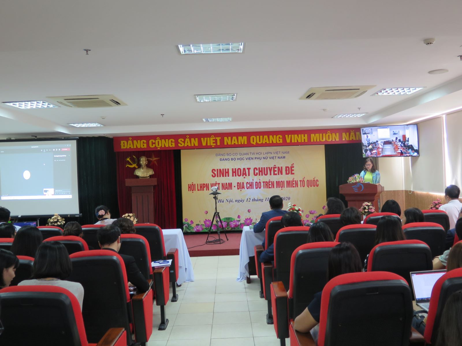 """Sinh hoạt chuyên đề """"Hội Liên hiệp Phụ nữ Việt Nam, địa chỉ đỏ trên mọi miền tổ quốc"""""""