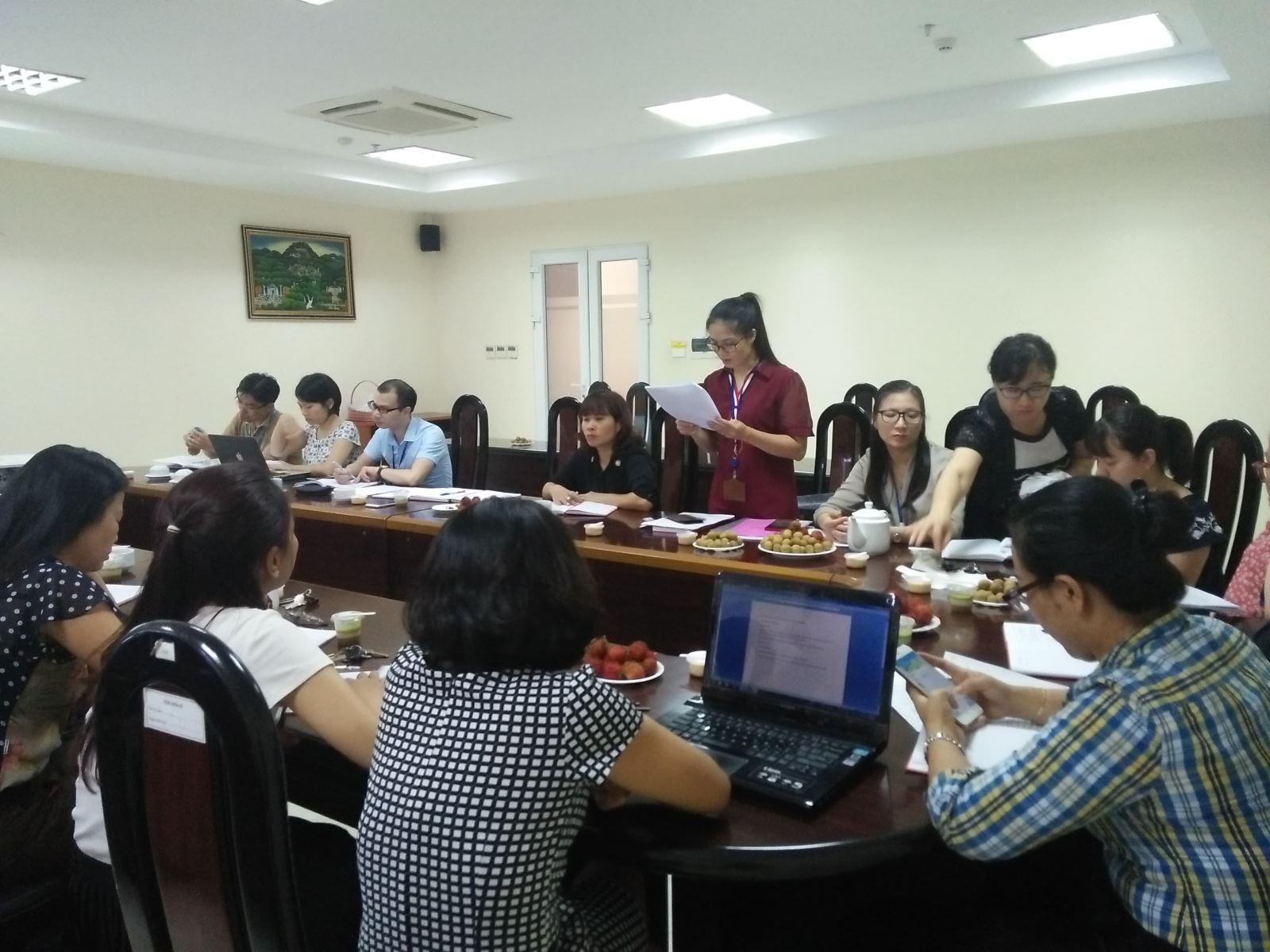 Sinh hoạt chuyên đề: Học tập và làm theo tư tưởng, đạo đức, phong cách Hồ Chí Minh  gắn với vị trí việc làm