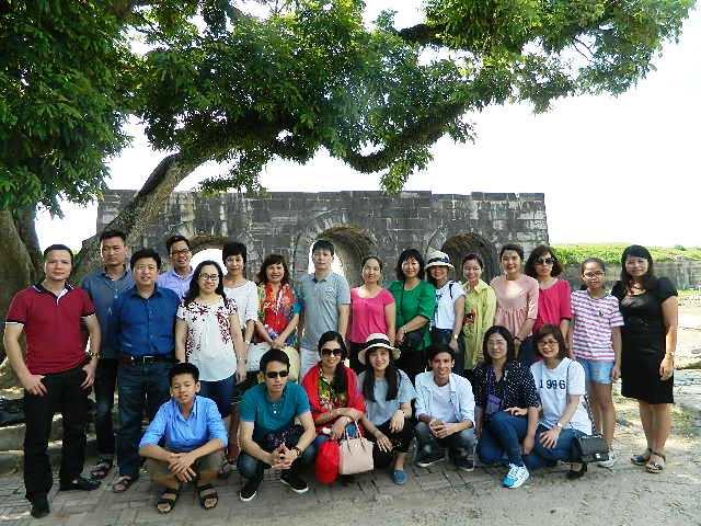 Hoạt động về nguồn của Chi bộ 1, 2 tại Thanh Hóa
