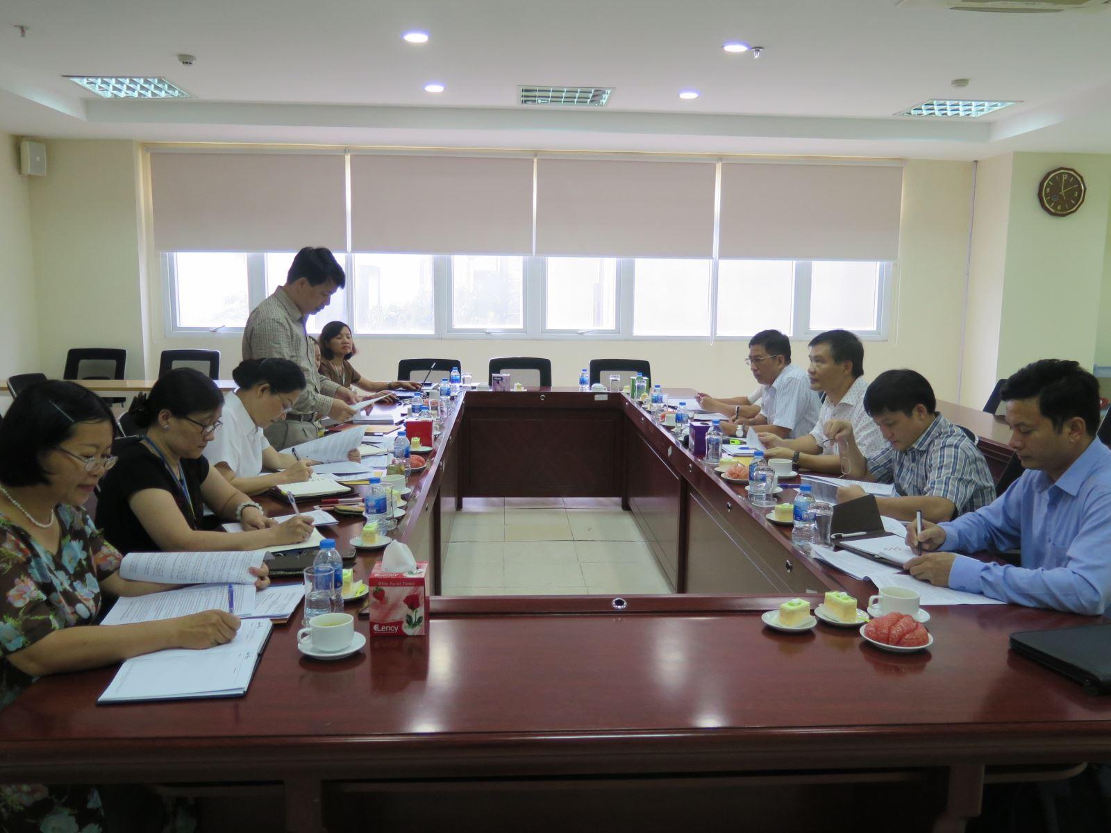 Học viện Phụ nữ Việt Nam làm việc với Đoàn kiểm tra của Ban Bí thư Trung ương Đảng