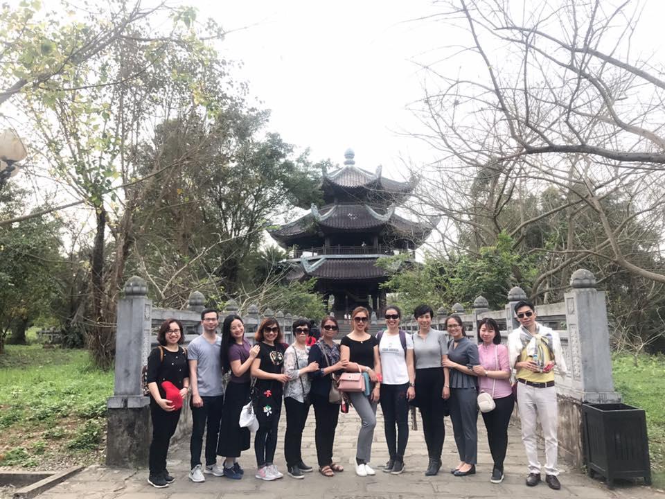 Chi bộ 2, Đảng ủy Học viện Phụ nữ Việt Nam tổ chức về nguồn tại Ninh Bình