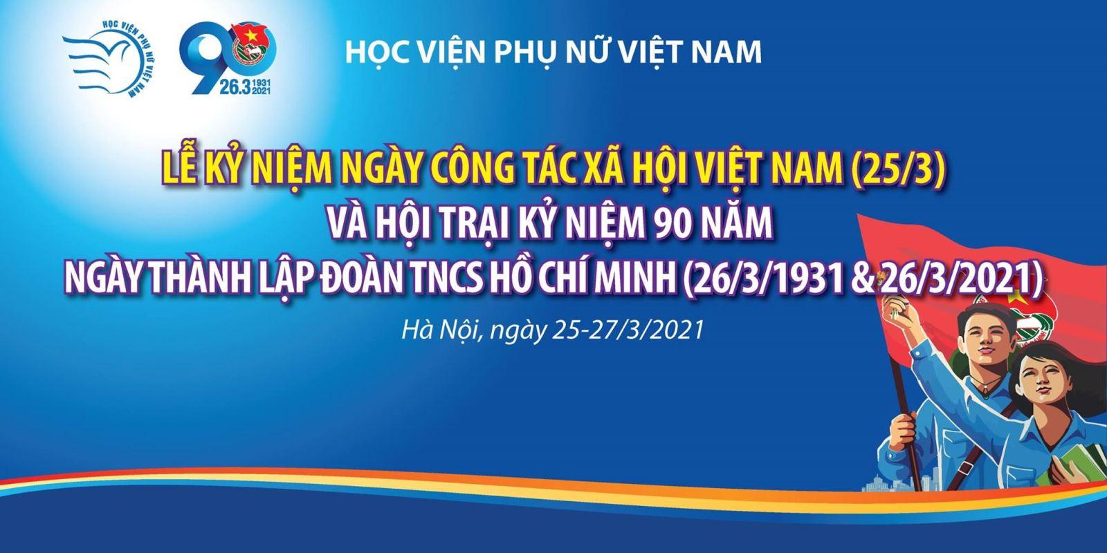Hội trại kỉ niệm ngày CTXH và 90 năm ngày thành lập Đoàn TNCS Hồ Chí Minh