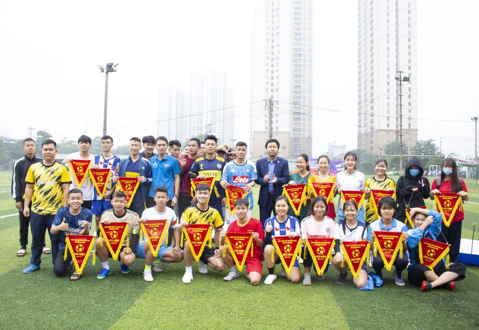 Khai mạc hội thao sinh viên Học viện Phụ nữ Việt Nam 2020