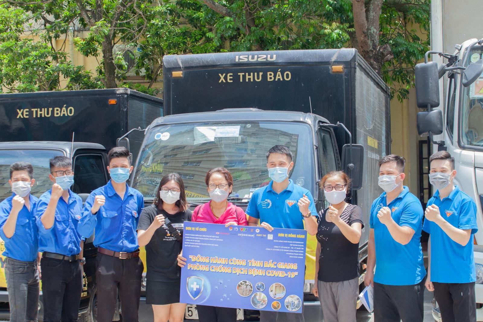 Học viện Phụ nữ Việt Nam tổ chức chương trình ủng hộ phòng, chống dịch bệnh Covid -19