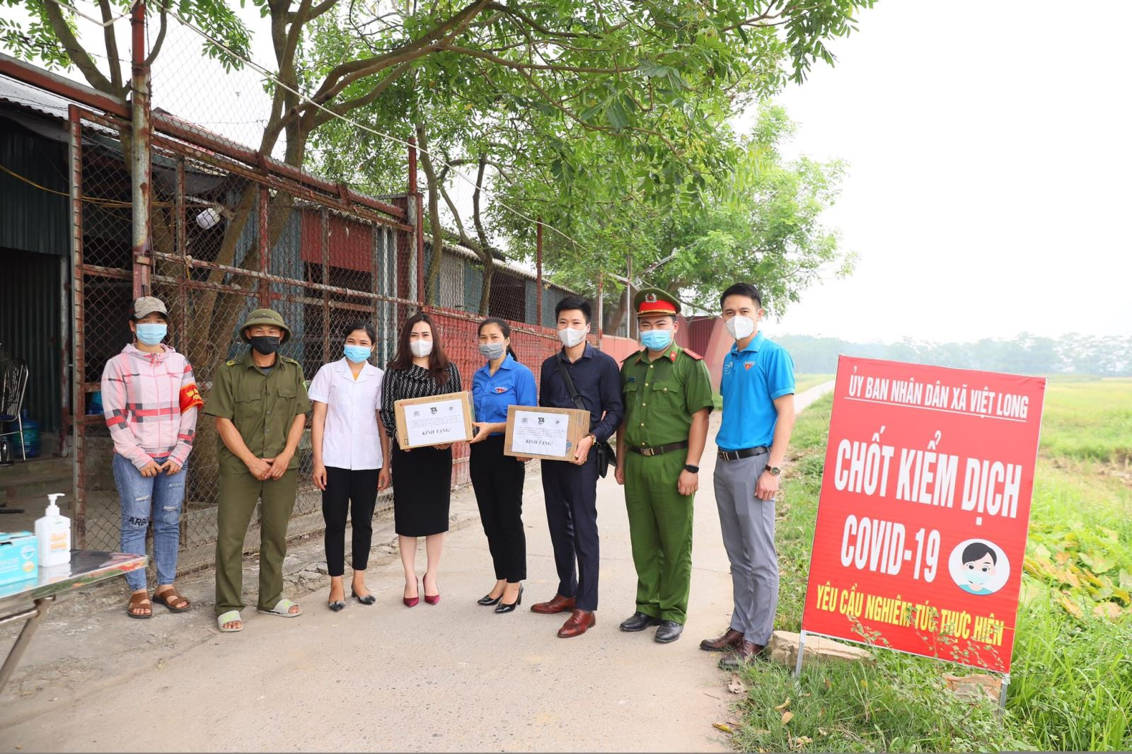 Đoàn Thanh niên Học viện tiếp tục ủng hộ phòng chống dịch