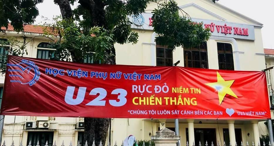 Đôi dòng cảm xúc cùng đội tuyển bóng đá U23 Việt Nam