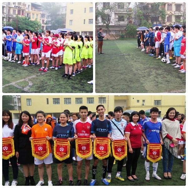 Giải bóng đá Học viện Phụ nữ Việt Nam năm 2016