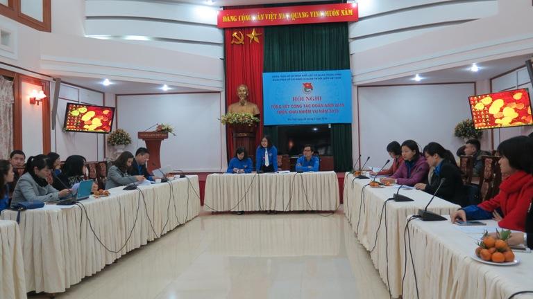 Hội nghị tổng kết công tác Đoàn và phong trào thanh niên 2015
