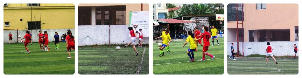 Kết quả Giải bóng đá Học viện Phụ nữ Việt Nam năm 2016