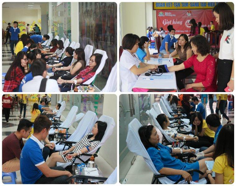 Đoàn Thanh niên Học viện tổ chức Ngày hội hiến máu