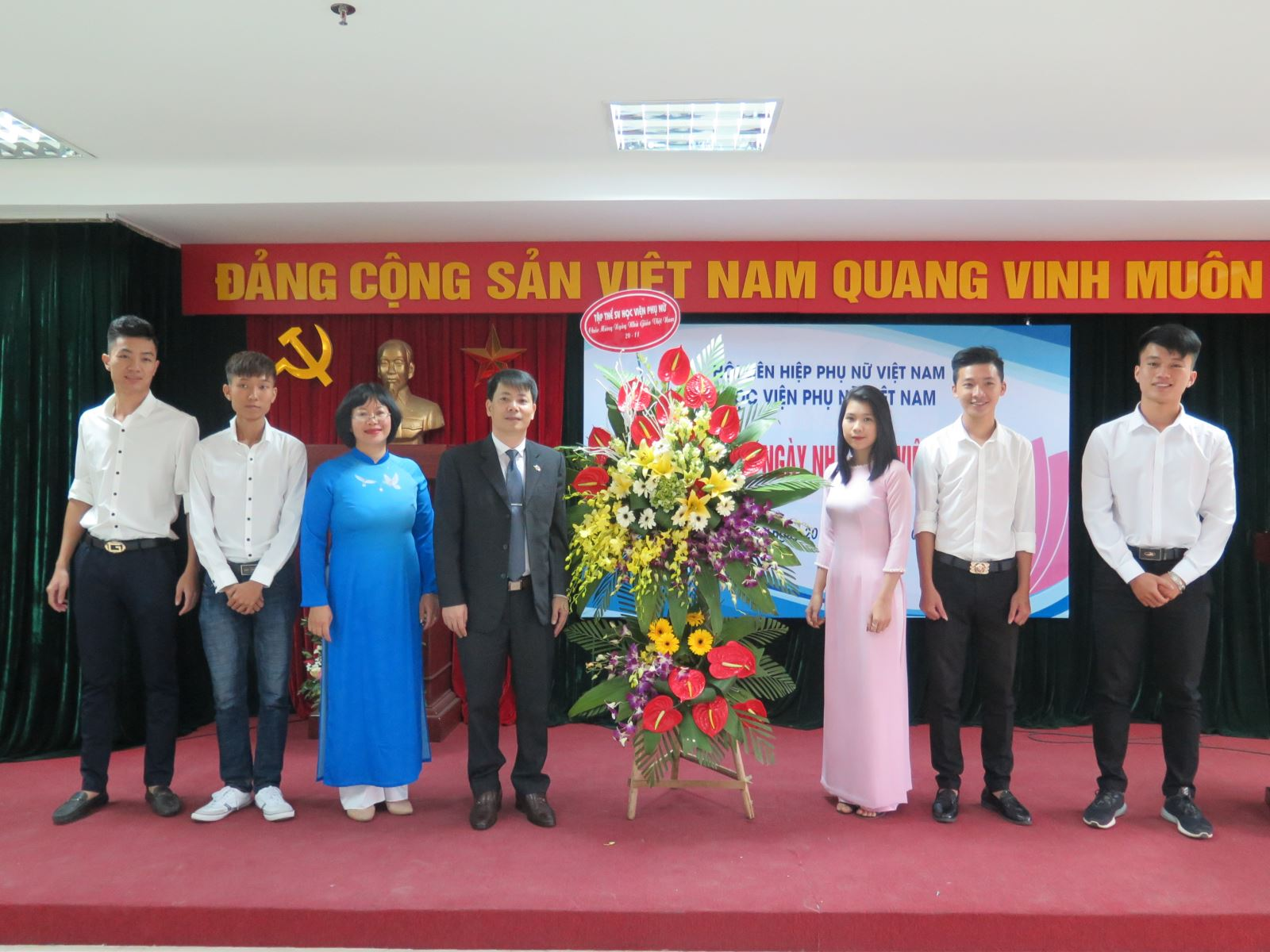 Học viện Phụ nữ Việt Nam tổ chức Kỉ niệm 35 năm ngày Nhà giáo Việt Nam