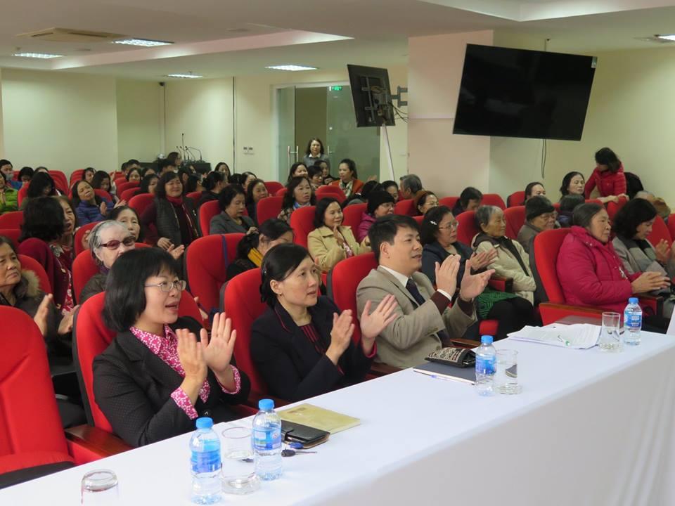 Học viện Phụ nữ Việt Nam gặp mặt các cán bộ Hưu trí Xuân Kỷ Hợi
