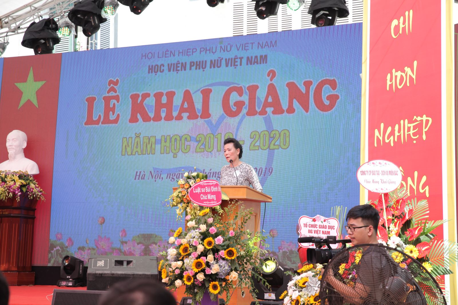 VOV: Học viện Phụ nữ Việt Nam khai giảng năm học mới
