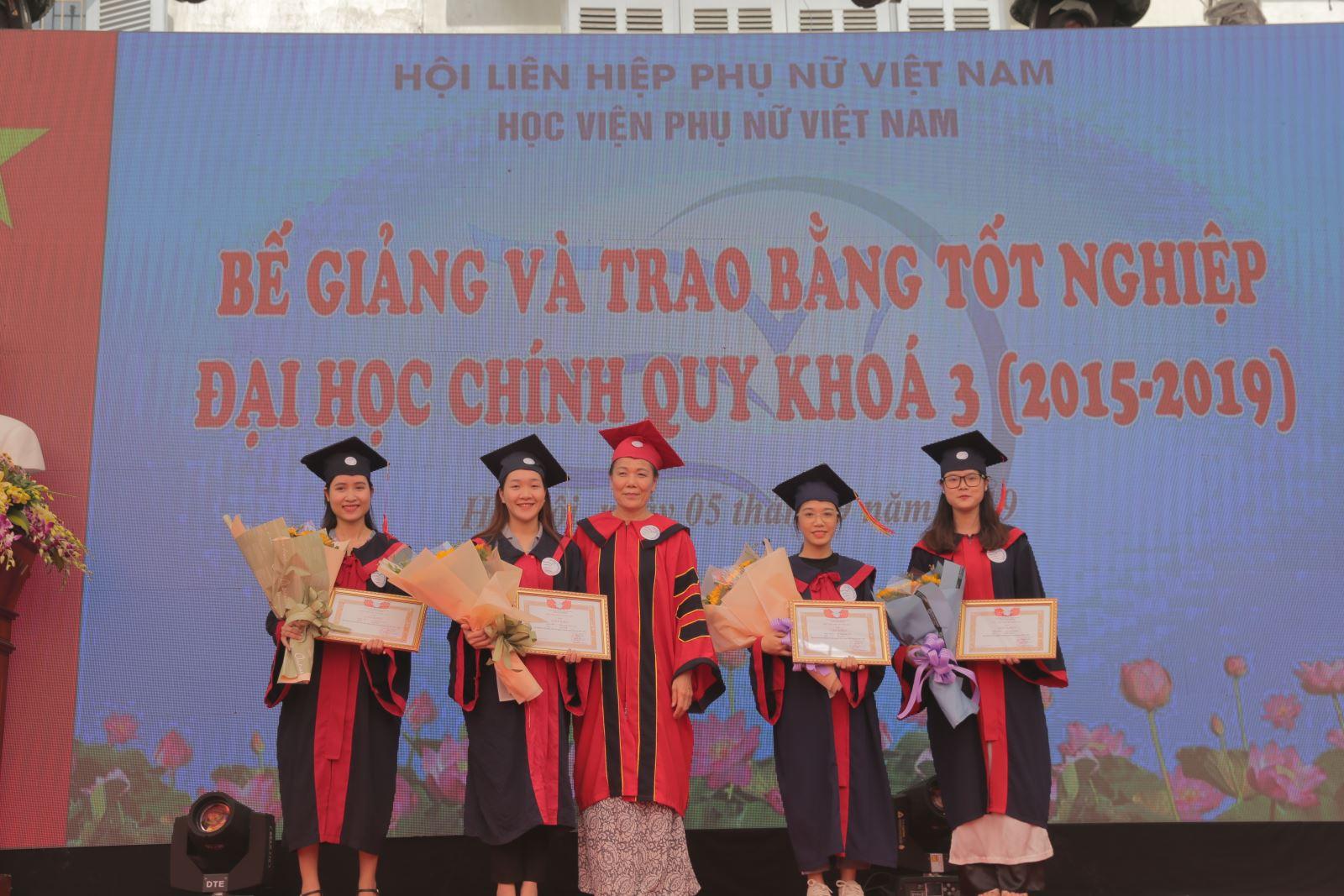 Báo Phụ nữ Việt Nam: Mỗi cử nhân tốt nghiệp từ Học viện PNVN sẽ là một chuyên gia về giới