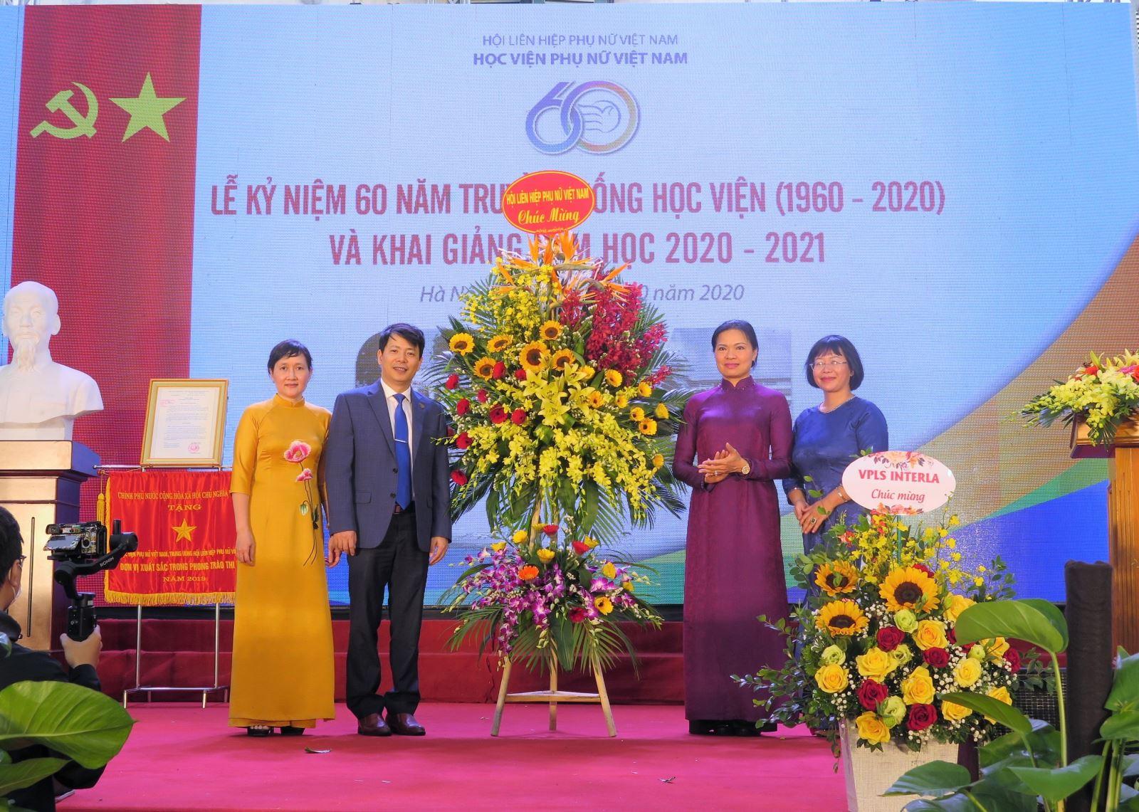 Học  viện Phụ nữ Việt Nam - 60 năm xây dựng và trưởng thành