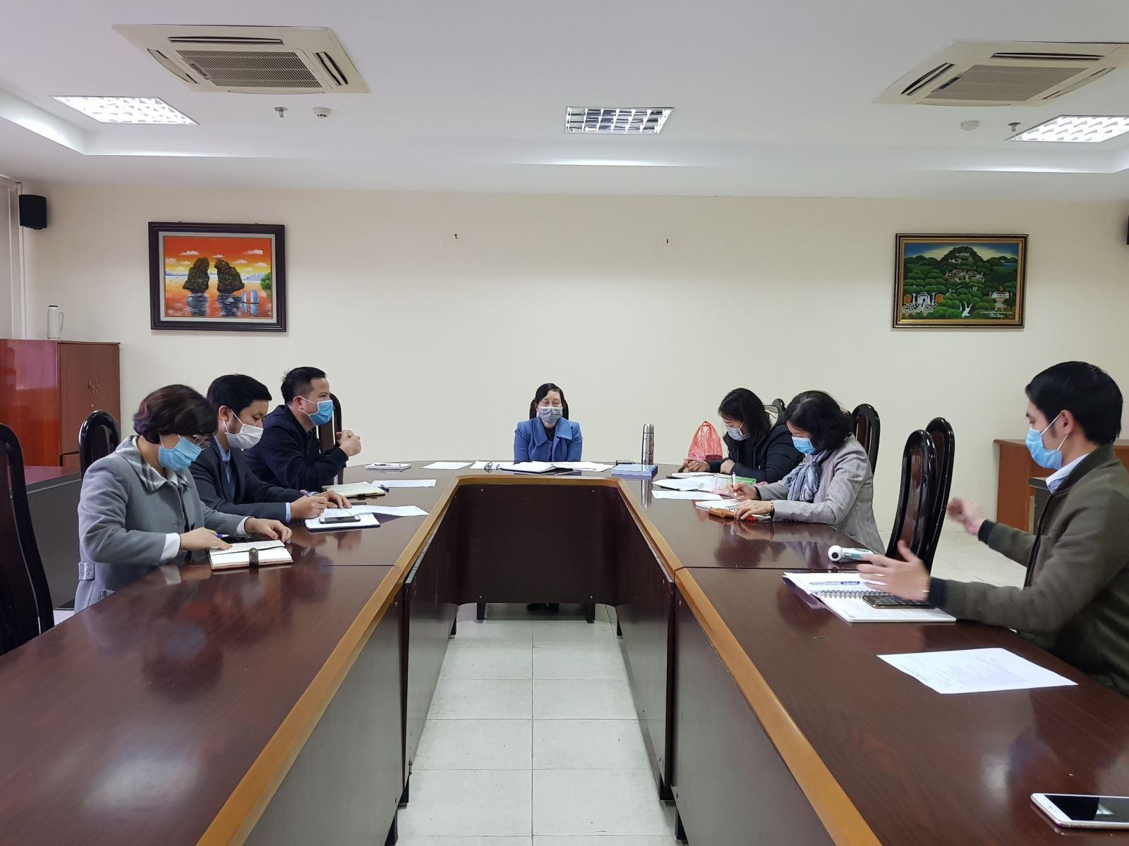 Học viện Phụ nữ Việt Nam tổ chức phòng chống dịch bệnh Covid-19