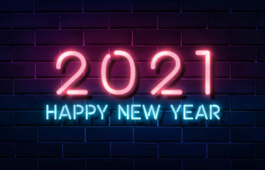 THƯ CHÚC MỪNG NĂM MỚI 2021