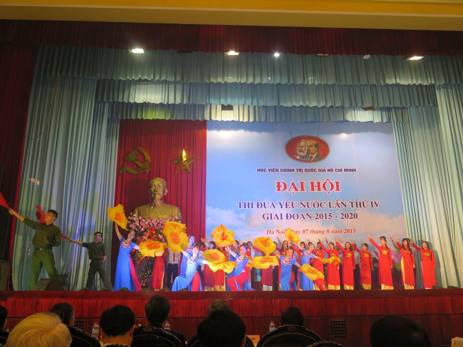Học viện Phụ nữ Việt Nam tham gia Đại hội thi đua yêu nước Trường Chính trị Hành chính Quốc gia Hồ Chí Minh