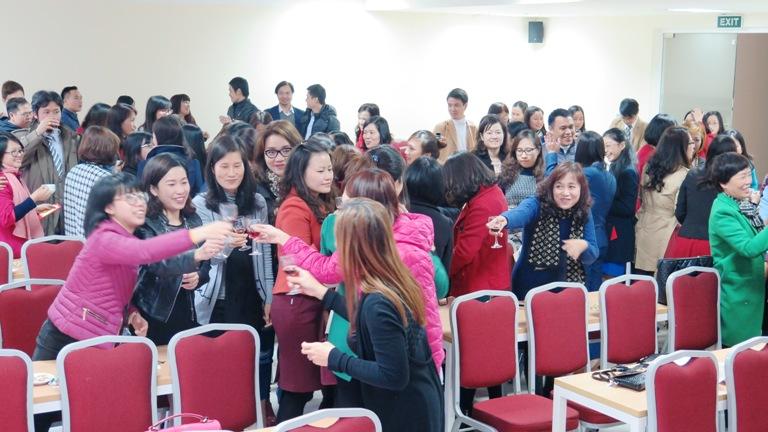 Học viện Phụ nữ Việt Nam tổ chức gặp mặt đầu xuân Bính Thân