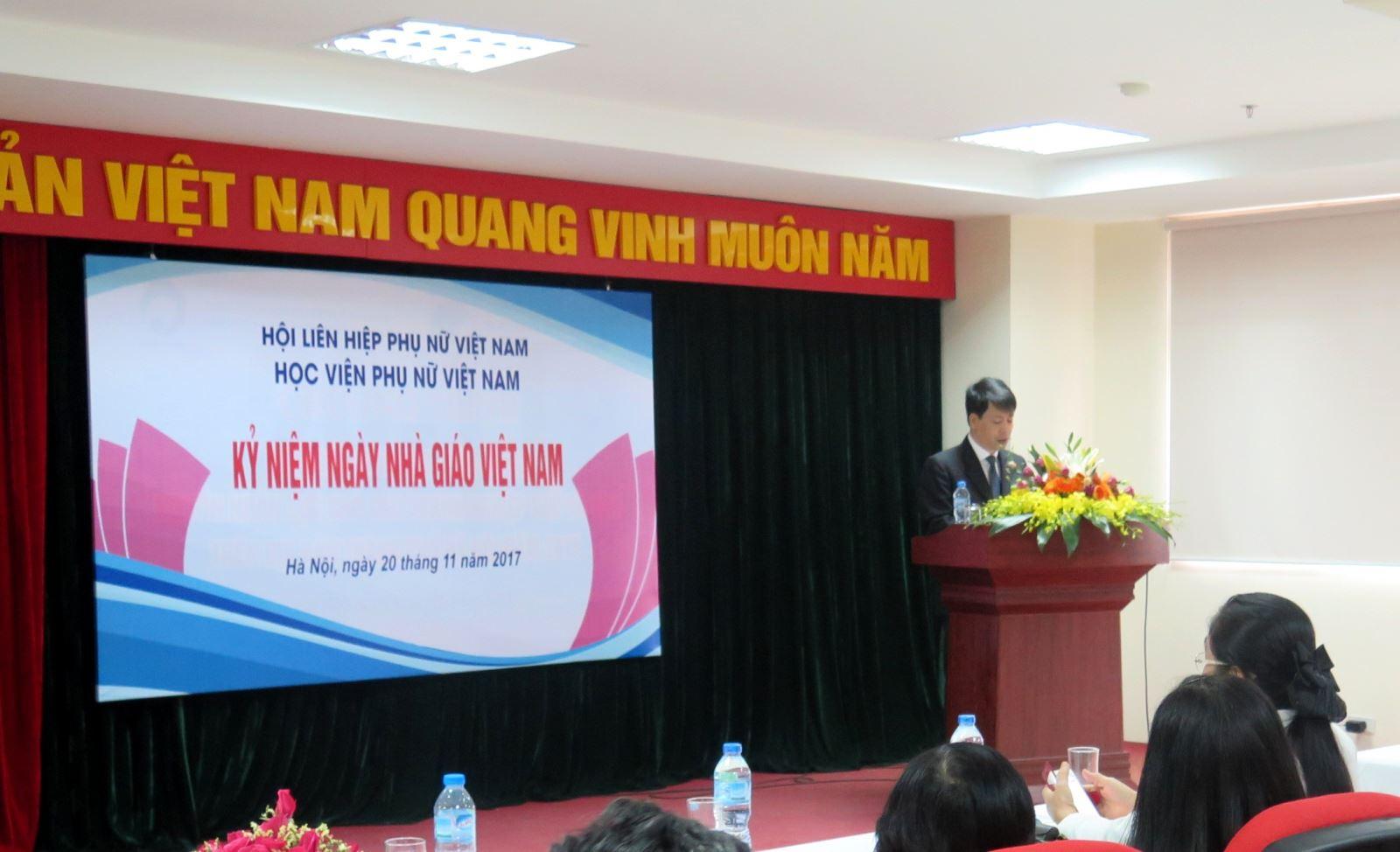Diễn văn kỉ niệm ngày Nhà giáo Việt Nam 20/11