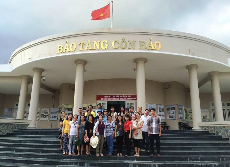 """Phân hiệu Học viện PNVN: """"Hành trình về Côn Đảo"""""""