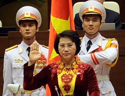 Bà Nguyễn Thị Kim Ngân trở thành nữ Chủ tịch Quốc hội đầu tiên