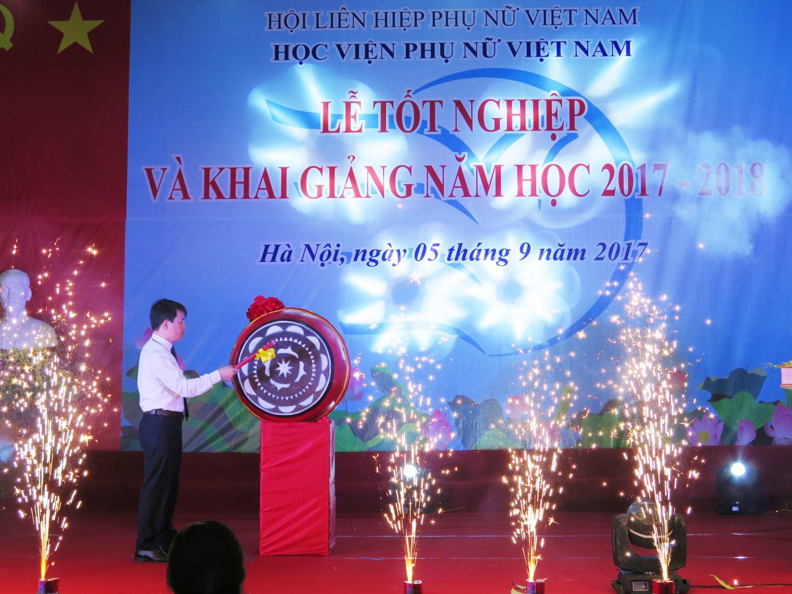 Diễn văn khai giảng năm học 2017 - 2018