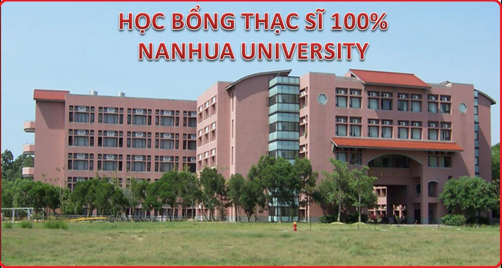 Học bổng Thạc sĩ QTKD - Đại học Nanhua - Đài Loan