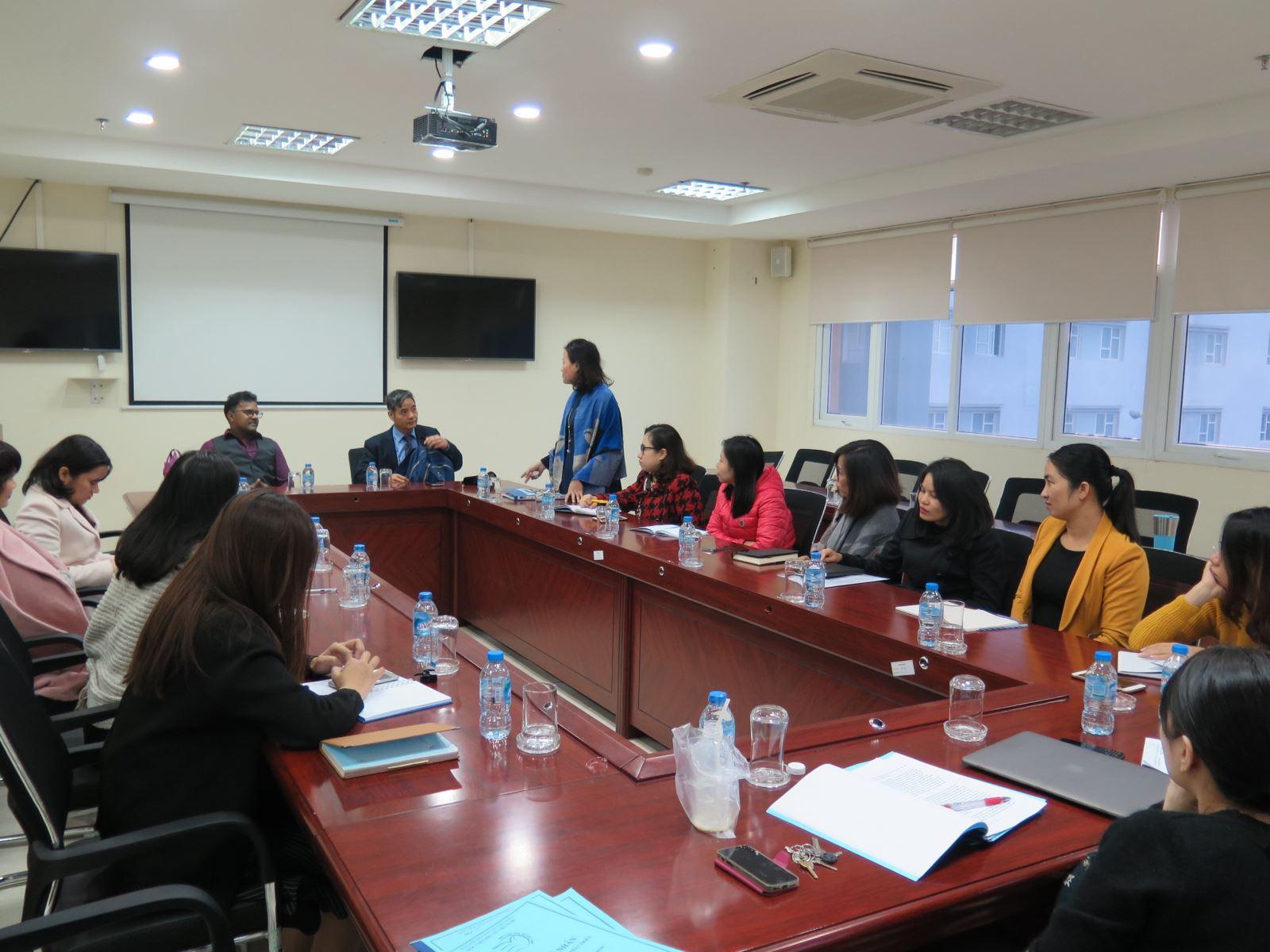 Học viện Phụ nữ Việt Nam tổ chức hội thảo Nâng cao năng lực ngoại ngữ