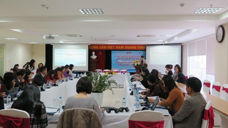 Học viện Phụ nữ Việt Nam phối hợp tổ chức Hội thảo nghiên cứu và tham vấn chính sách