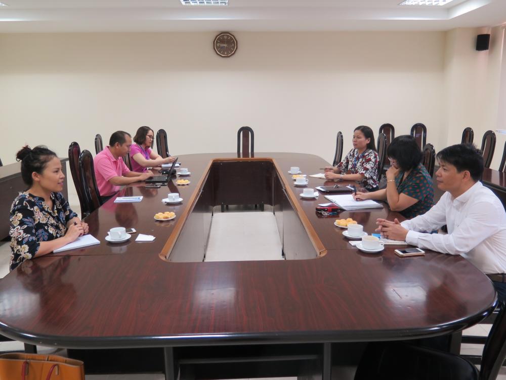 Hoạt động hợp tác giữa Học viện Phụ nữ Việt Nam và cơ quan phát triển LHQ (UNDP) tại Việt Nam
