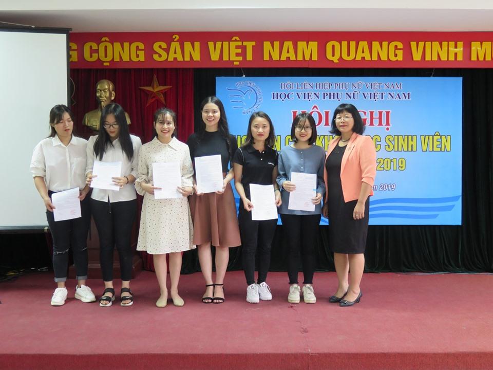 Hội nghị nghiên cứu khoa học sinh viên năm học 2018 - 2019