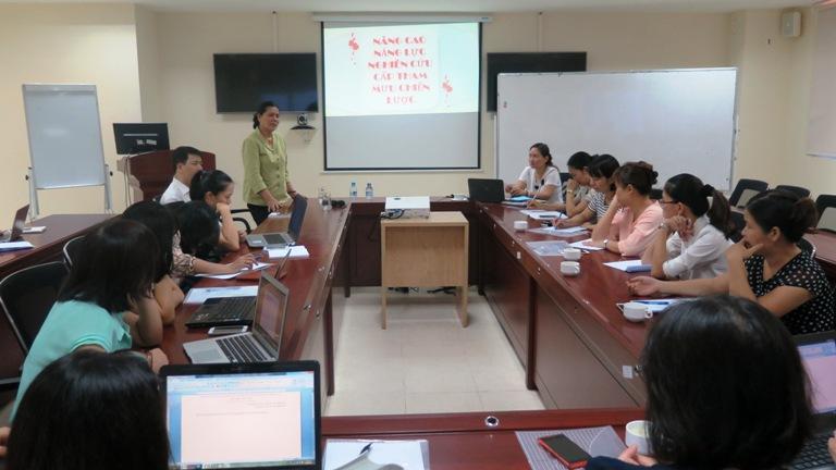 Tổ chức lớp bồi dưỡng nâng cao năng lực nghiên cứu cho cán bộ Trung ương Hội