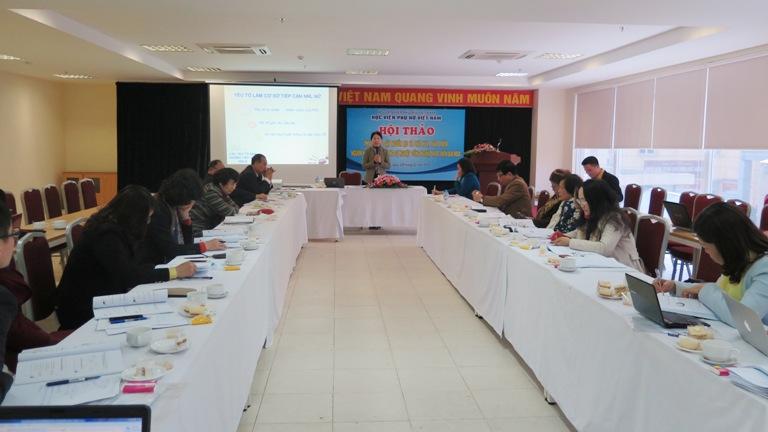 Học viện Phụ nữ Việt Nam tổ chức hội thảo phát triển nguồn nhân lực nữ
