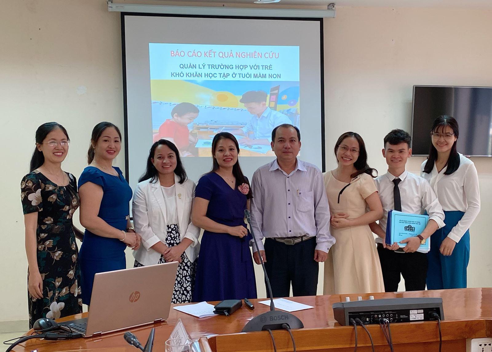 Nghiệm thu đề tài nghiên cứu khoa học cấp cơ sở tại Phân hiệu Học viện Phụ nữ Việt Nam