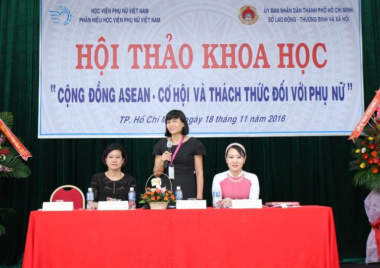 """Hội thảo khoa học: """"Cộng đồng Asean - Cơ hội và thách thức đối với phụ nữ"""""""