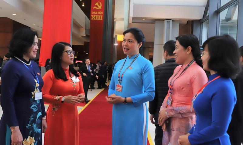 Chủ tịch Hội LHPN Việt Nam Hà Thị Nga trúng cử Ban chấp hành Trung ương Đảng khóa XIII