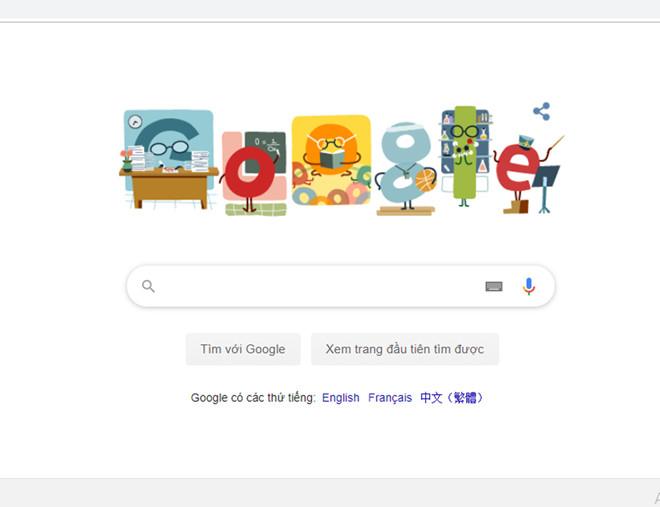 Thầy cô xúc động khi Google tri ân Ngày Nhà giáo Việt Nam 20.11