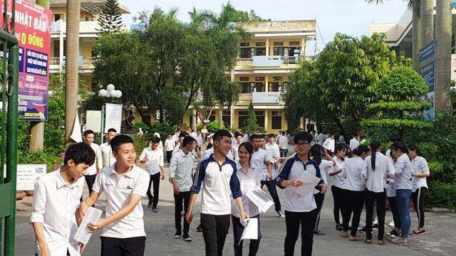 Nam Định dẫn đầu cả nước về tỷ lệ thí sinh đỗ tốt nghiệp THPT