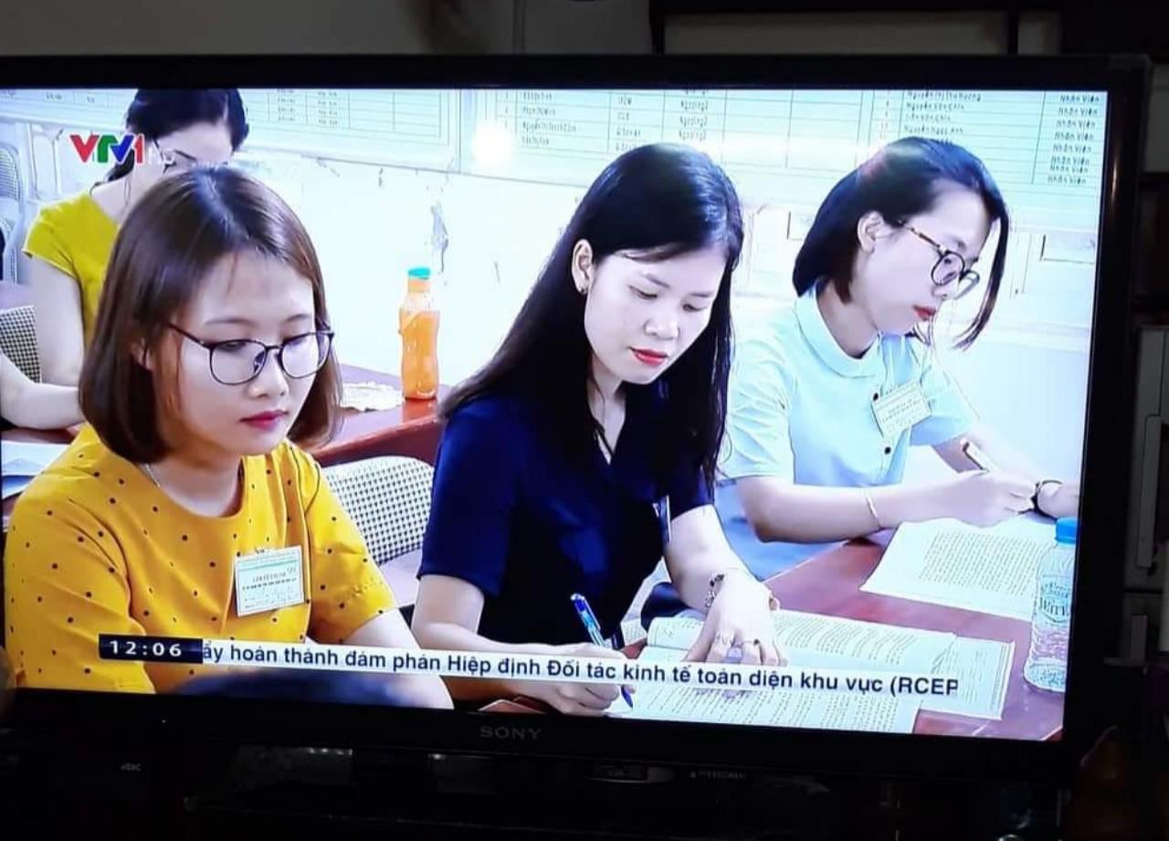 Học viện Phụ nữ Việt Nam tham gia phối hợp coi thi kỳ thi THPT Quốc gia năm 2019 tại tỉnh Hòa Bình