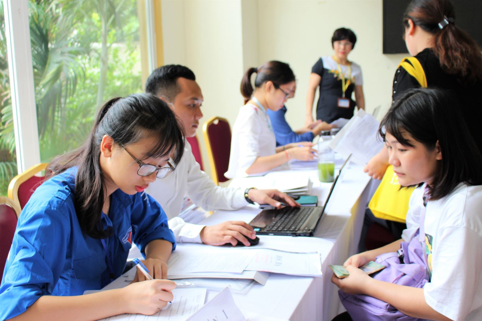 Học viện Phụ nữ Việt Nam đón tân sinh viên khóa 7 nhập học