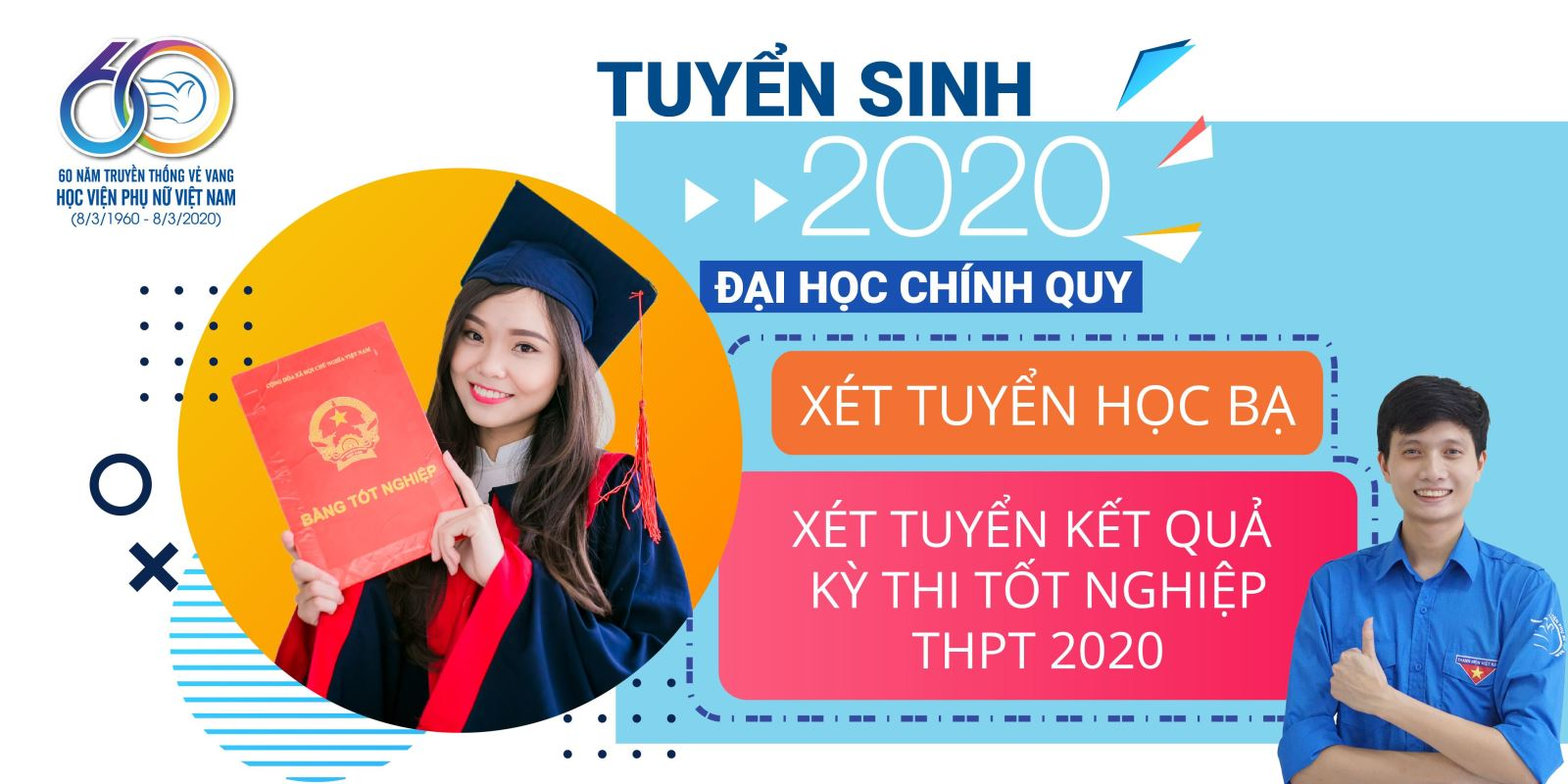 THÔNG BÁO XÉT TUYỂN ĐẠI HỌC 2020