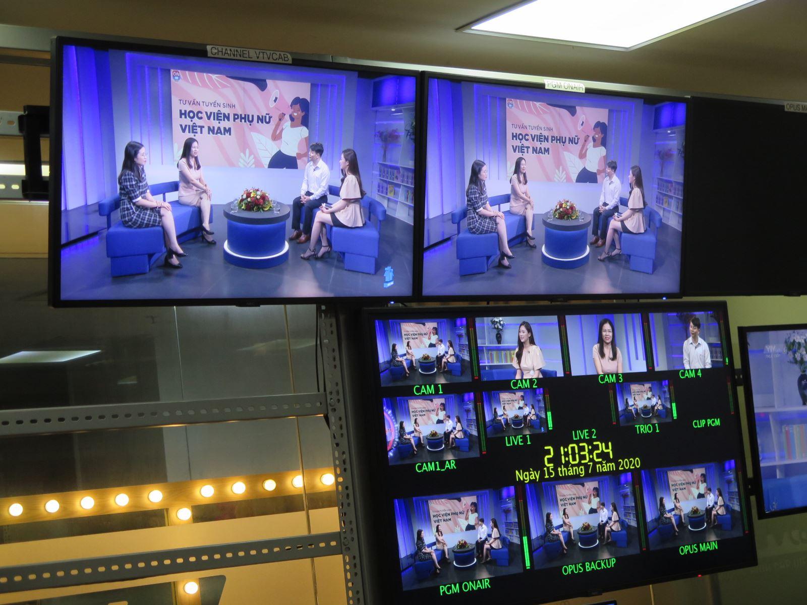 Học Viện Phụ nữ Việt Nam Live Stream Tư vấn tuyển sinh 2020