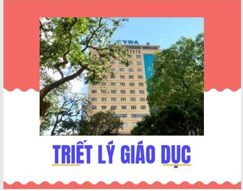 Quyết định công bố Triết lý Giáo dục của Học viện Phụ nữ Việt Nam